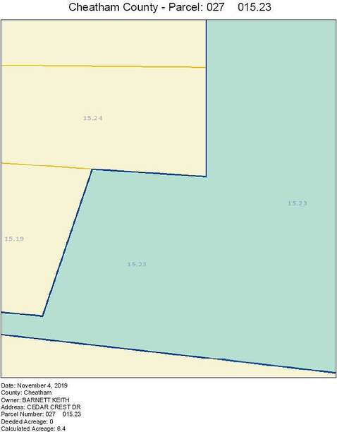 Parcel 027 015.23 Cedarcrest Dr, Chapsmanboro, TN 37035