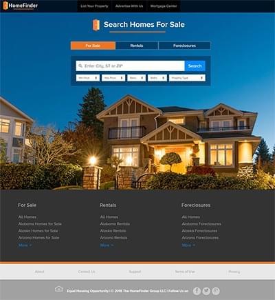 HomeFinder - Home